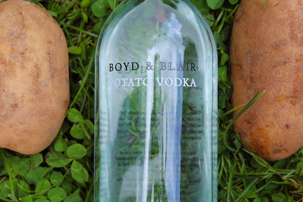 Craft Vodka: Boyd & Blair Potato Vodka