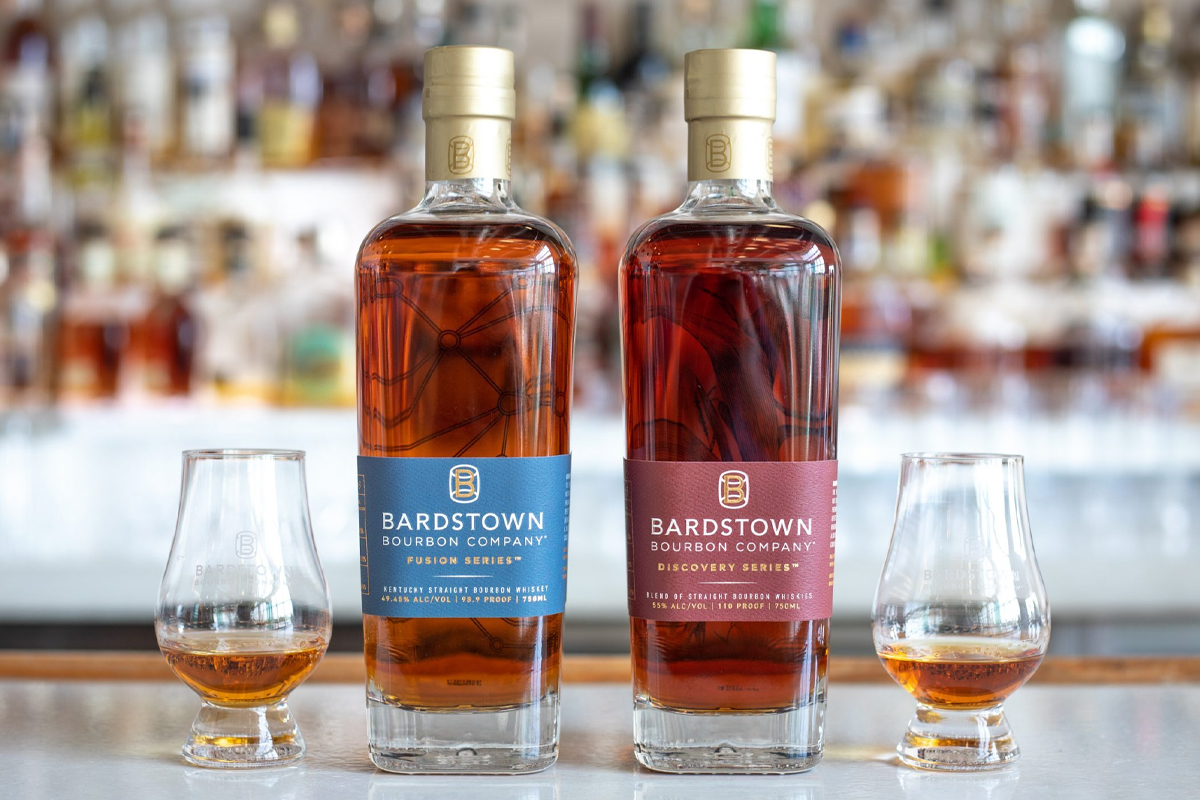 bourbon blending: Bardstown Bourbon Company Fusion Series