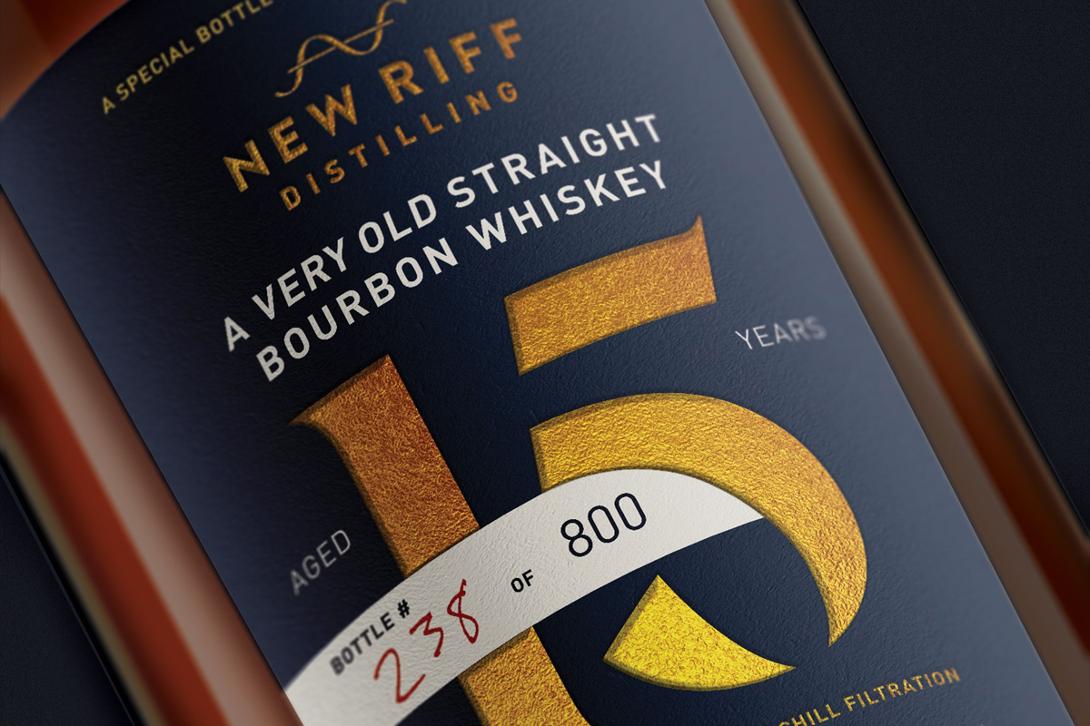 Double Eagle Very Rare: New Riff 15 Year Straight Bourbon