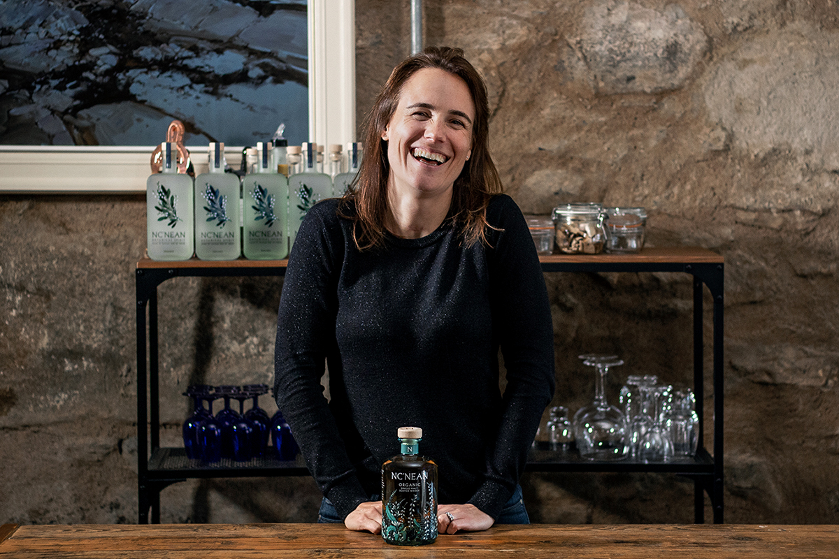 Nc'Nean Distillery: Founder Annabel Thomas