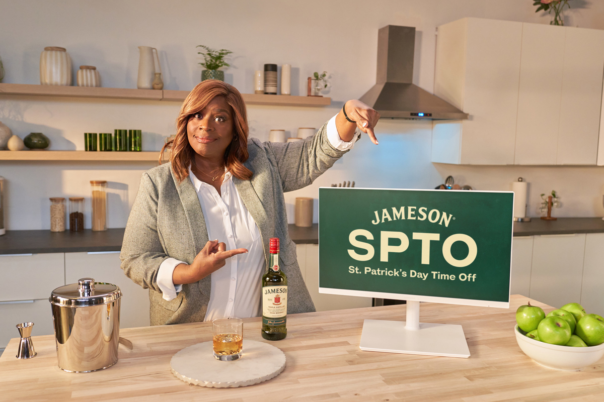 Midleton Very Rare 2021: Retta Sirleaf for Jameson's St. Patrick's Time Off