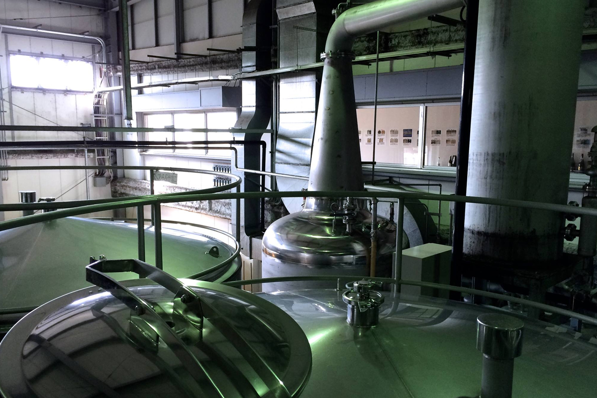 Japanese shochu: The Mizu Shochu Distillery
