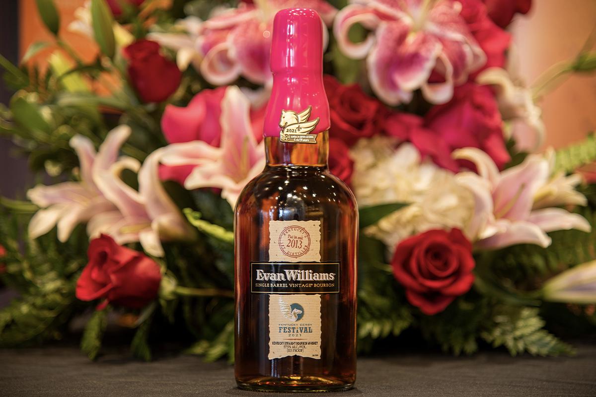 Maker's Mark FAE-01: Evan Williams Single Barrel Vintage 2013 (2021 Kentucky Derby Festival Bottling)