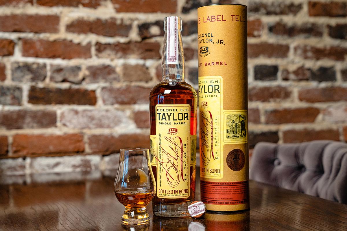 The Balvenie The Edge of Burnhead Wood: Colonel E.H. Taylor Jr. Single Barrel Bottled-in-Bond Day Commemorative Edition