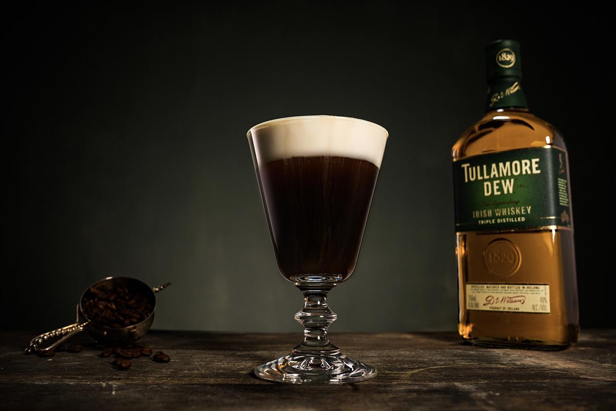 Irish whiskey cocktails: Irish Coffee