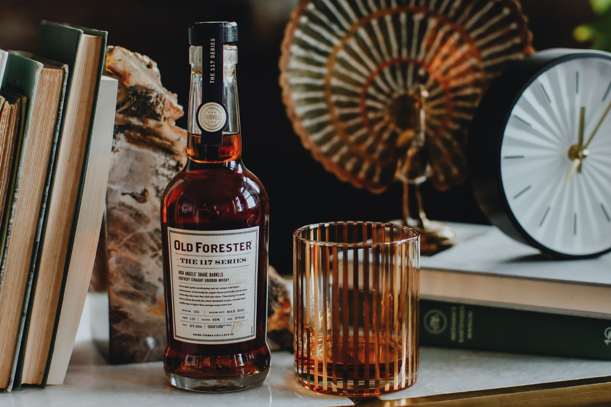 Jefferson's Rye Cognac Cask Finish: Old Forester The 117 Series High Angels' Share
