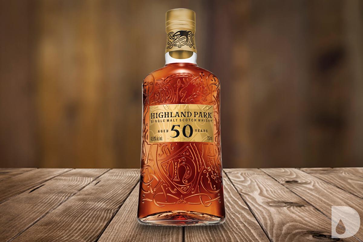 Jefferson's Rye Cognac Cask Finish: Highland Park 50 Year 2021