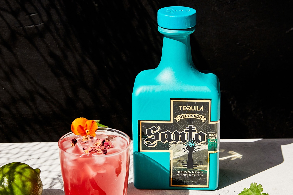 Stellum Bourbon: Santo Reposado Tequila