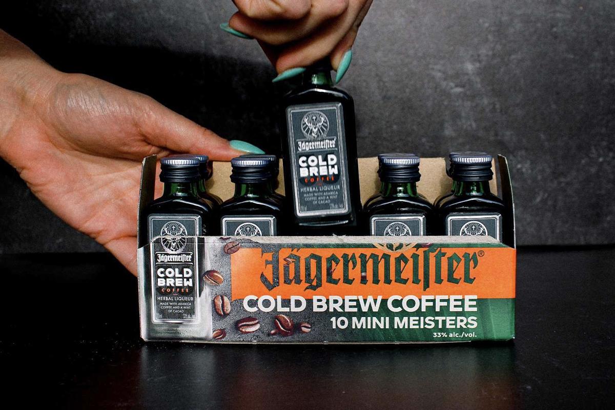 Stellum Bourbon: Jägermeister Cold Brew Coffee Mini Meisters