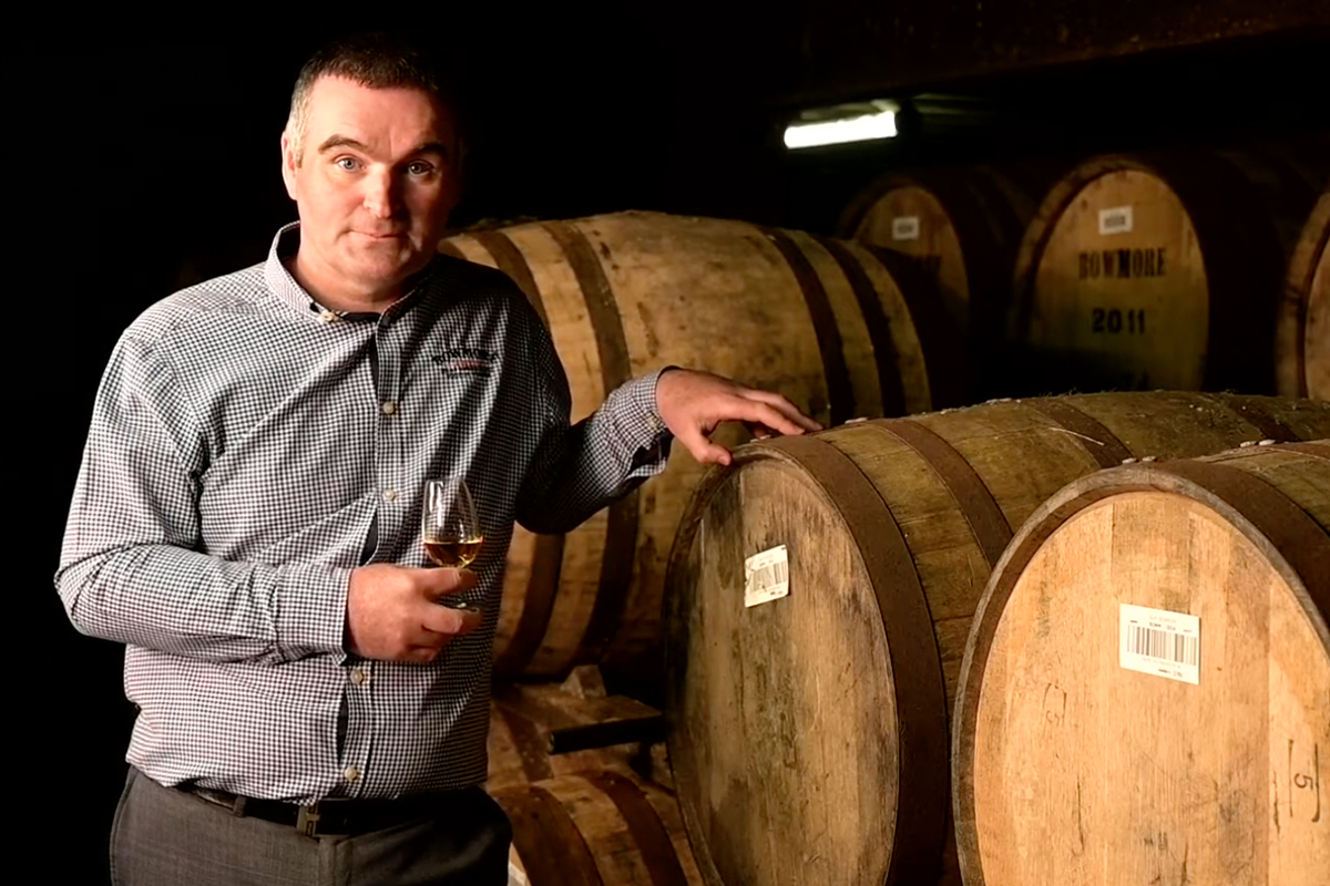 Bowmore Distillery Manager: David Turner