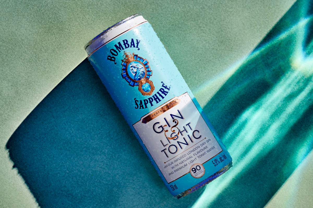 Stranahan's Original: Bombay Sapphire Light Gin & Tonic