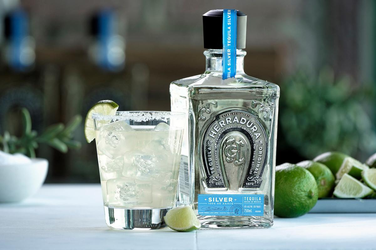 tequila styles: Herradura Silver Margarita