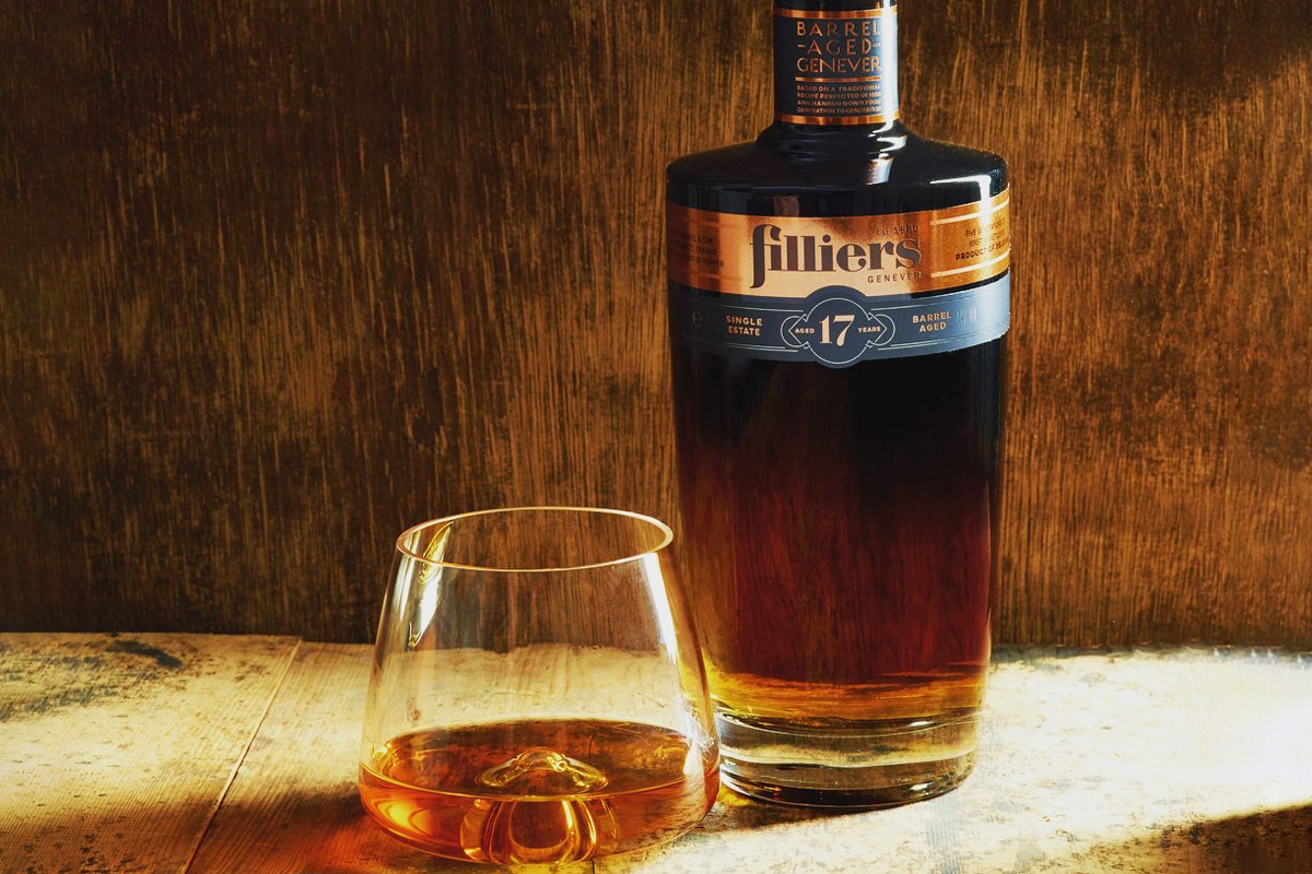 whiskey drinkers: Filliers 17 Year Barrel Aged Genever