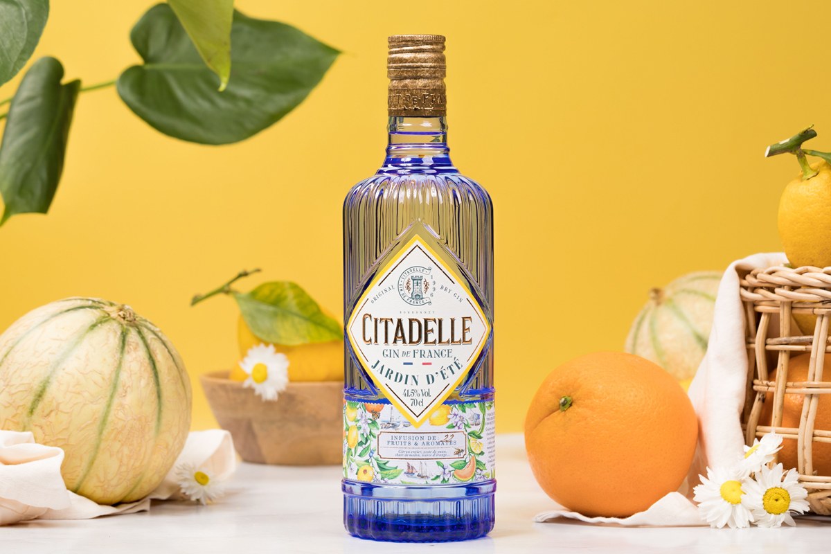 mother's day gift guide: Citadelle Jardin d'ete Gin