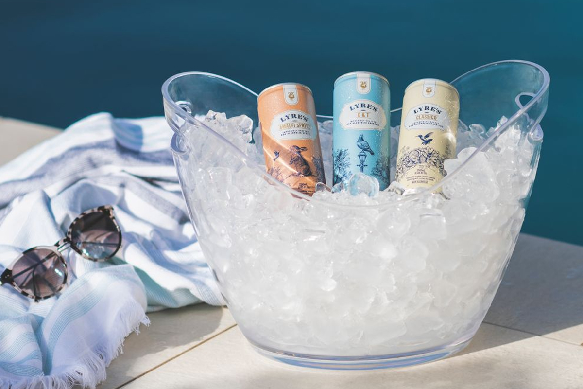 mother's day gift guide: Lyre's Non-Alcoholic Spirits Ready-to-Drink Canned Drinks