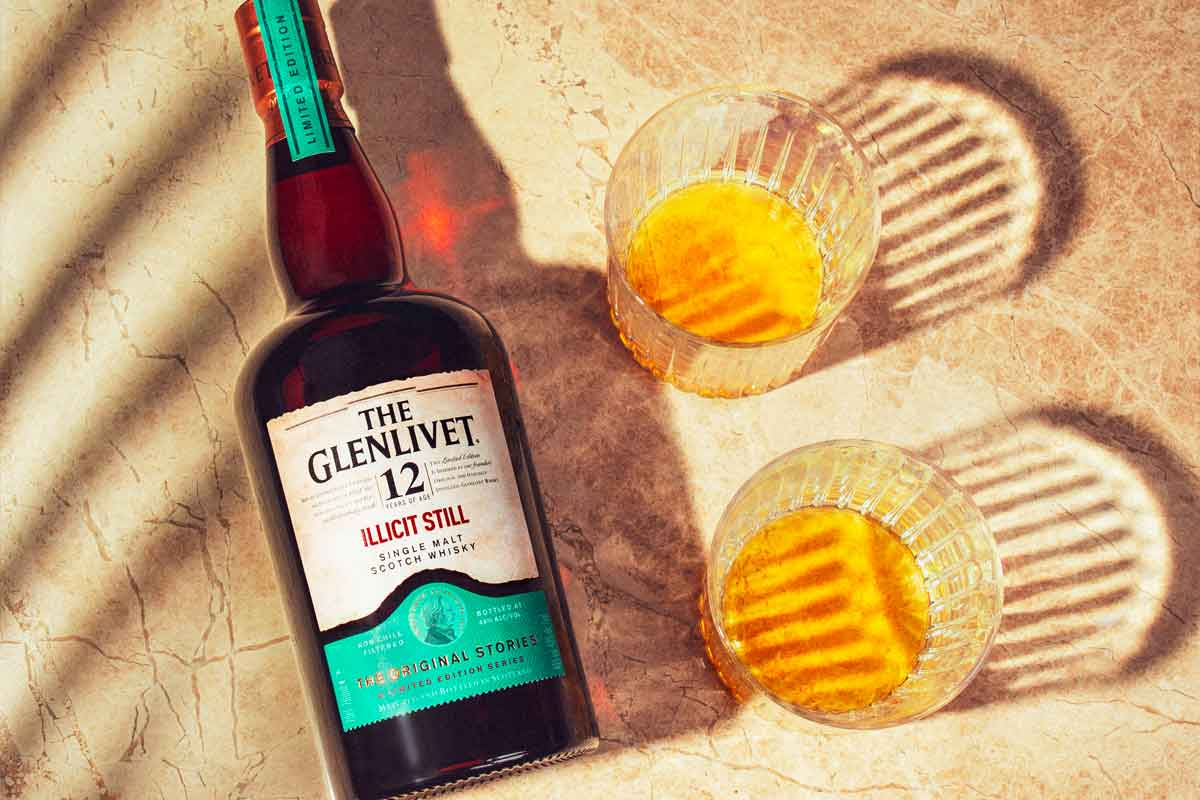 Copper Tongue 16 Year: The Glenlivet 12 Year Illicit Still