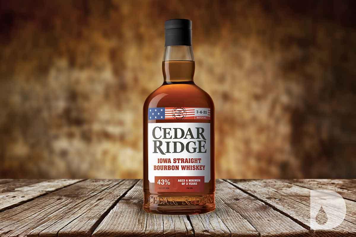 Copper Tongue 16 Year: Cedar Ridge Iowa Straight Bourbon