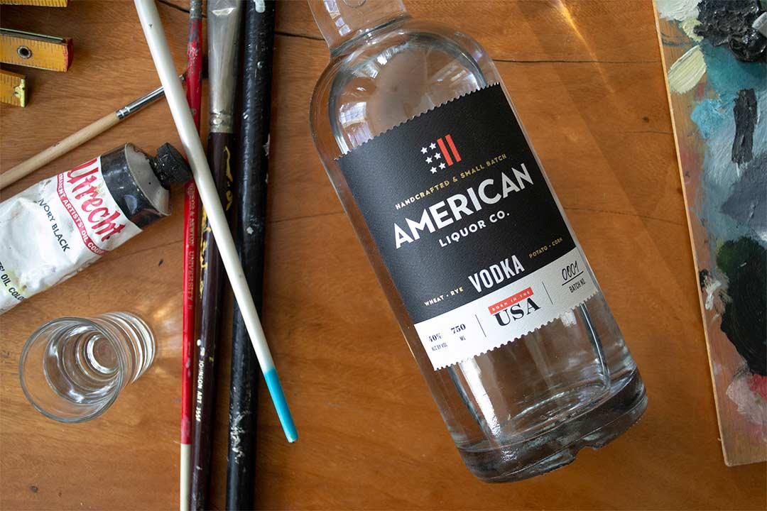 mixed grain vodka: American Liquor Co. Vodka