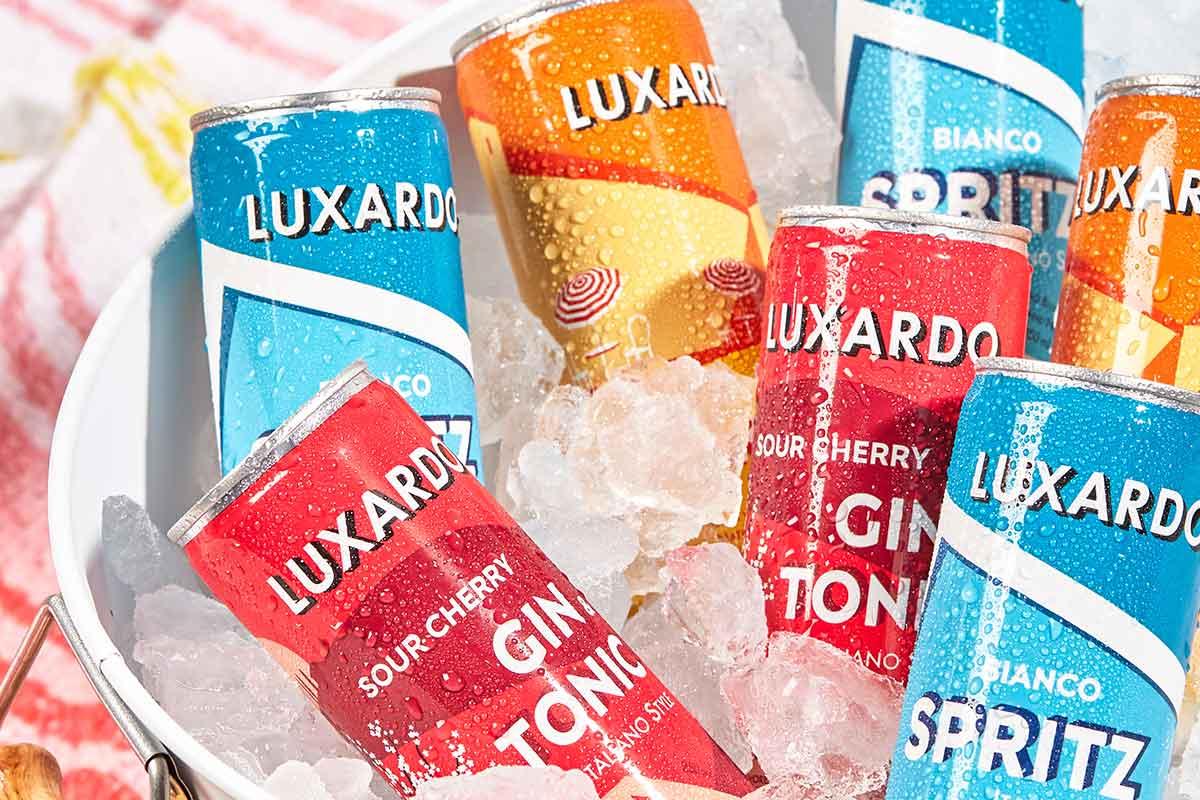 Westland American Single Malt: Luxardo Canned Cocktails