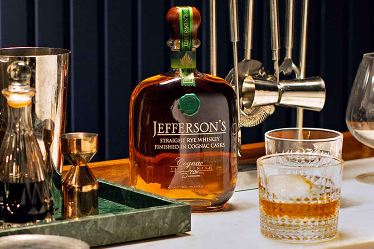 Father's Day whiskey: Jefferson's Rye Cognac Cask