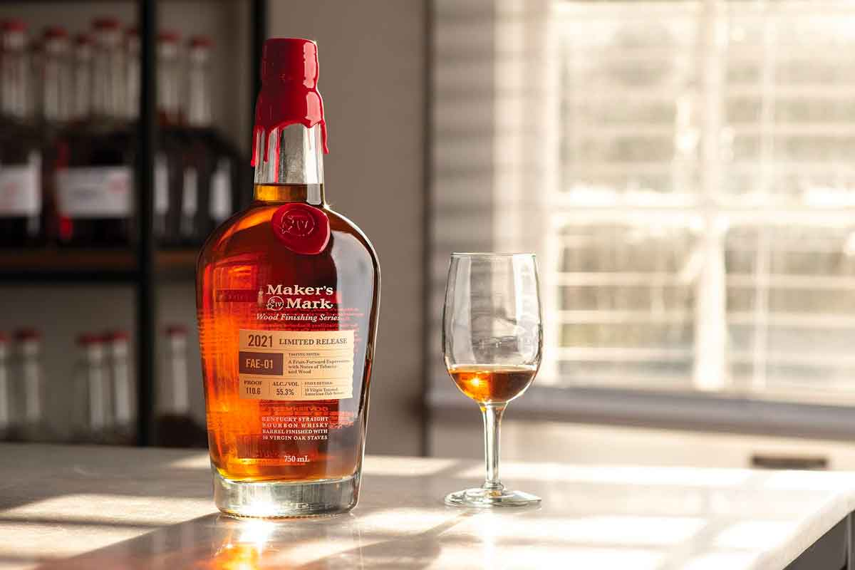 Father's Day whiskey: Maker's Mark Wood Finishing Series 2021 FAE-01