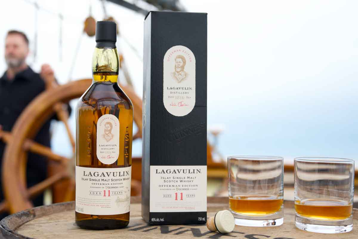Father's Day whiskey: Lagavulin Offerman Edition Guinness Cask Finish