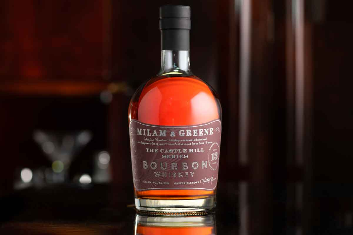Father's Day whiskey: Milam & Greene The Castle Hill Series Bourbon Batch 1