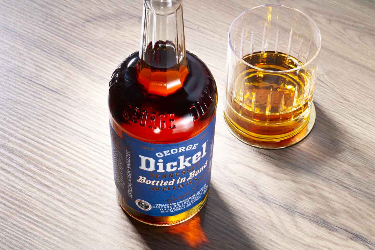 Father's Day whiskey: George Dickel Bottled in Bond Tennessee Whiskey 13 Year (Spring 2007)