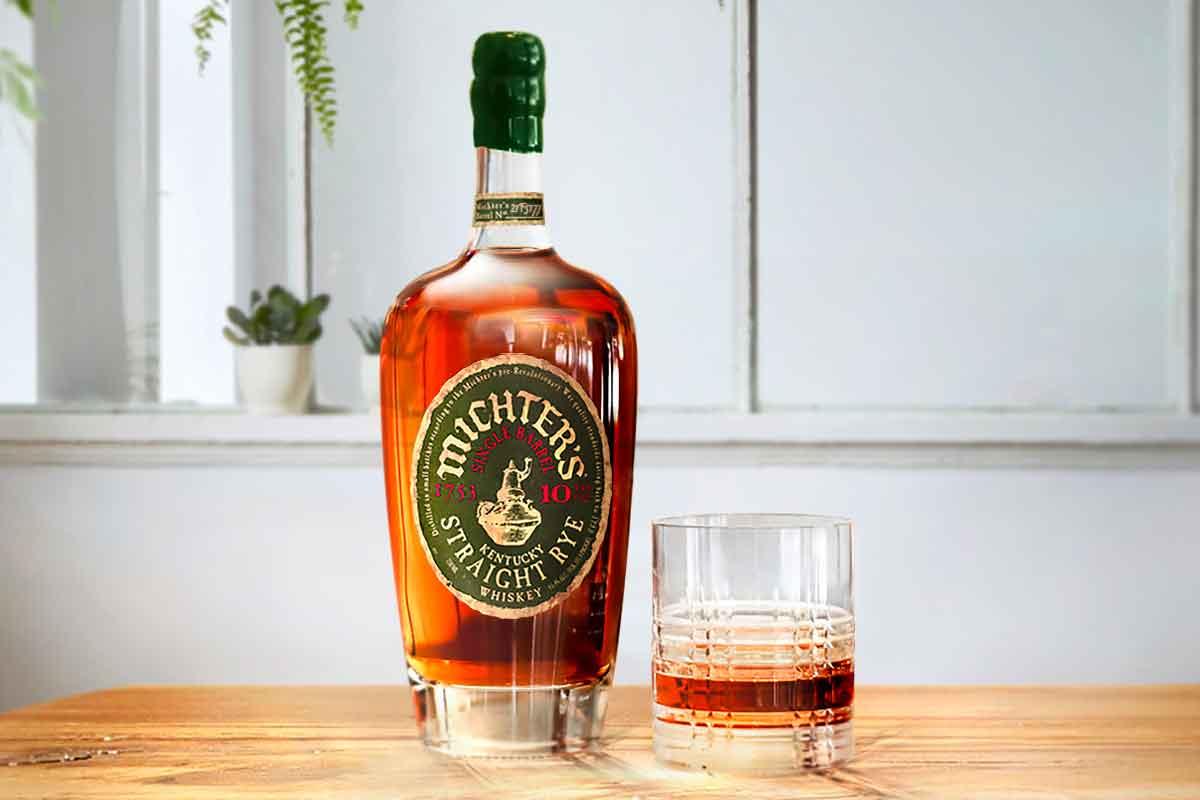 Five Brothers Bourbon: Michter's 10 Year Single Barrel Kentucky Straight Rye
