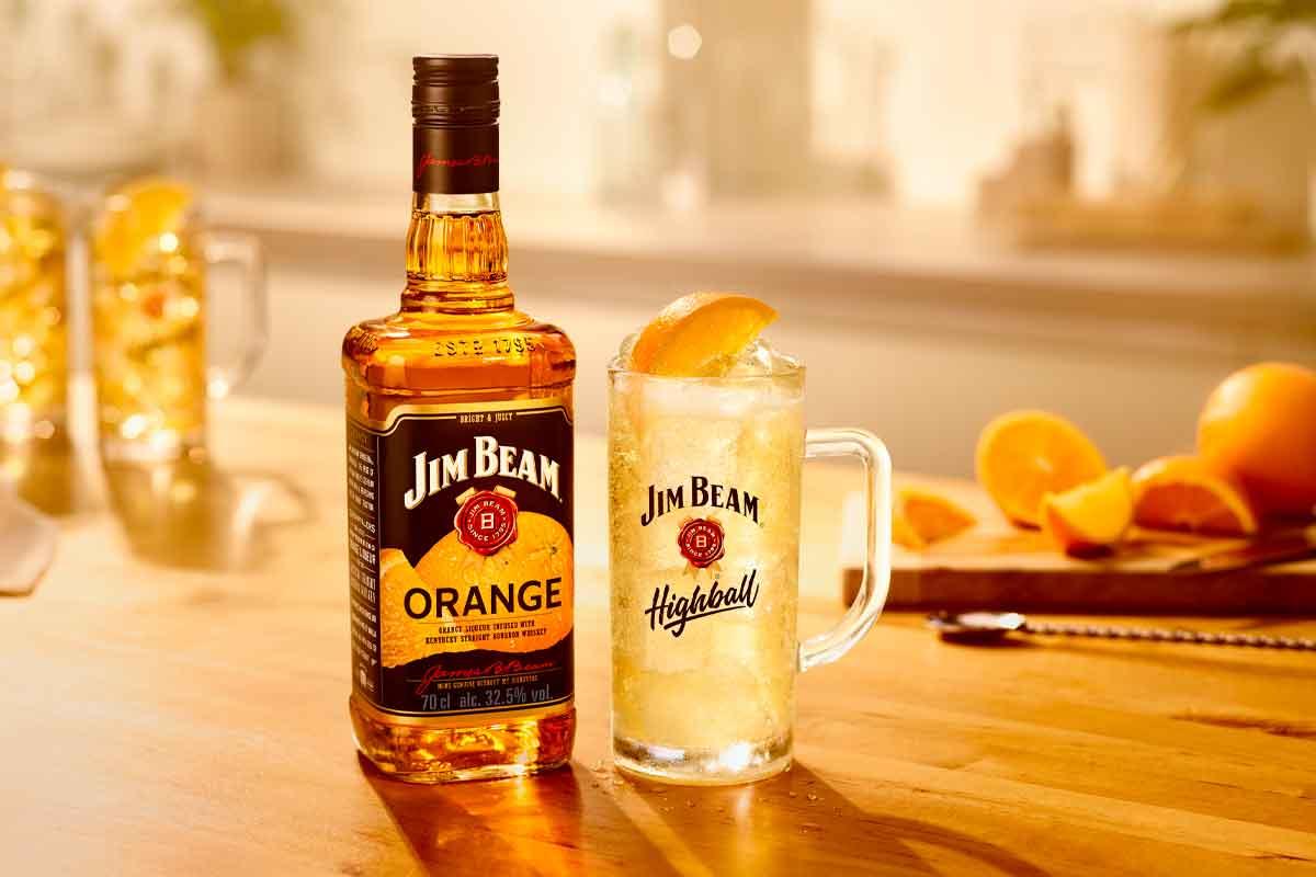 Five Brothers Bourbon: Jim Beam Orange