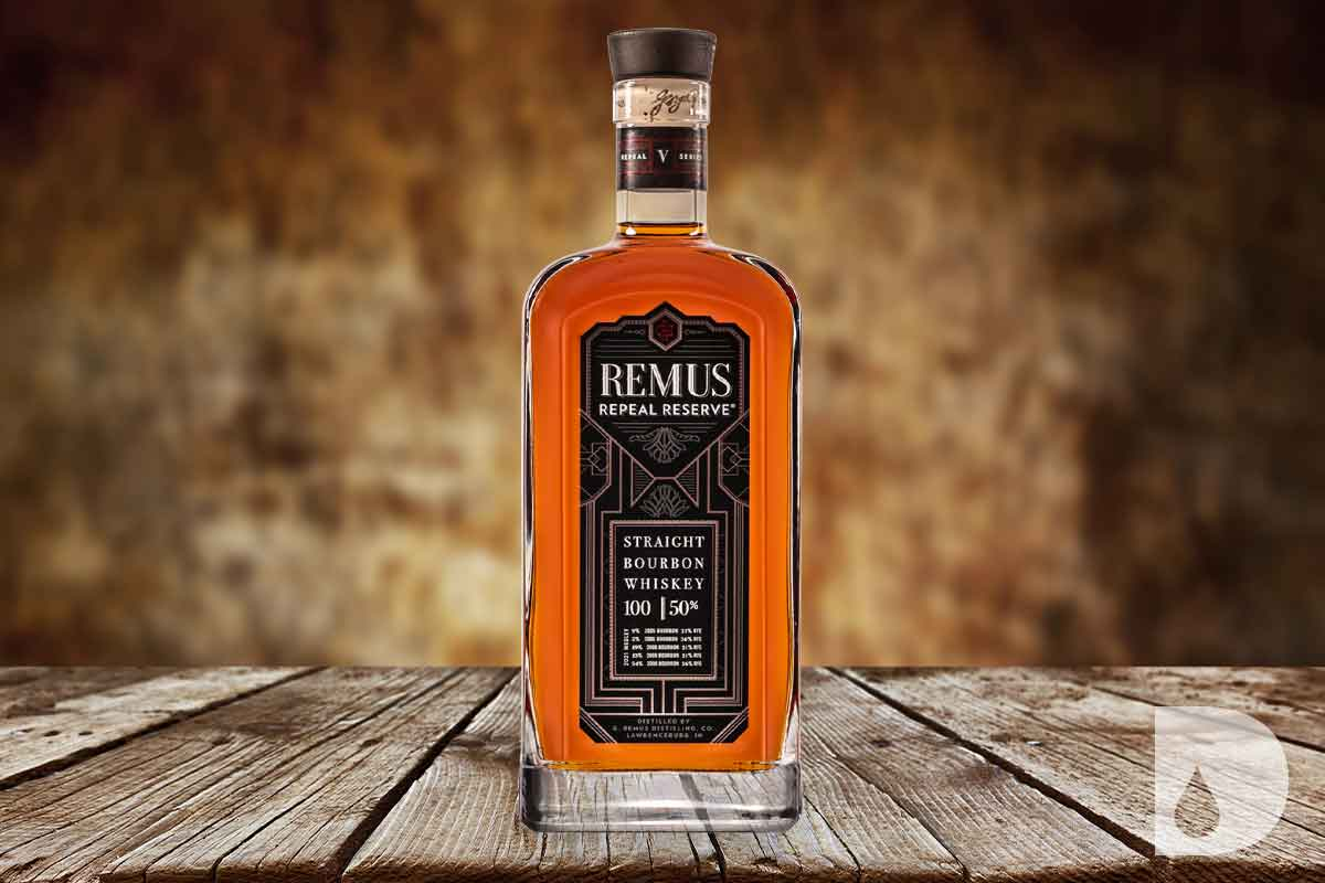 Sipsmith Strawberry Smash: Remus Repeal Reserve Series V Straight Bourbon
