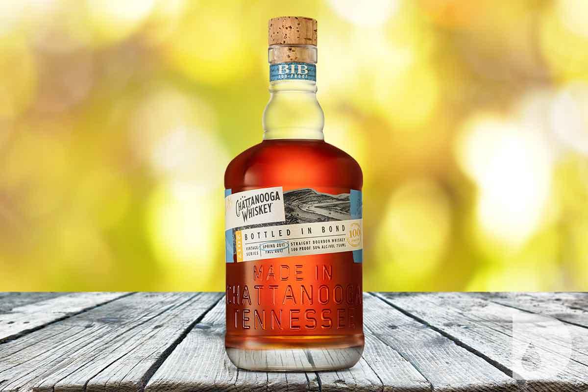 Sipsmith Strawberry Smash: Chattanooga Whiskey Bottled-in-Bond Spring 2017 Vintage