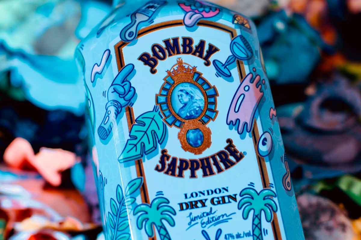 Birthday Bourbon 2021: Bombay Sapphire Steven Harrington Limited Edition