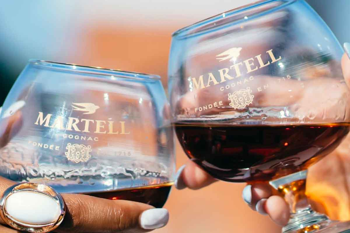Brandy Types: Martell cognac