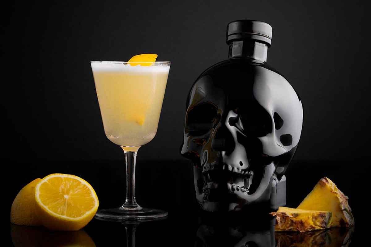 unconventional vodka: Crystal Head Onyx