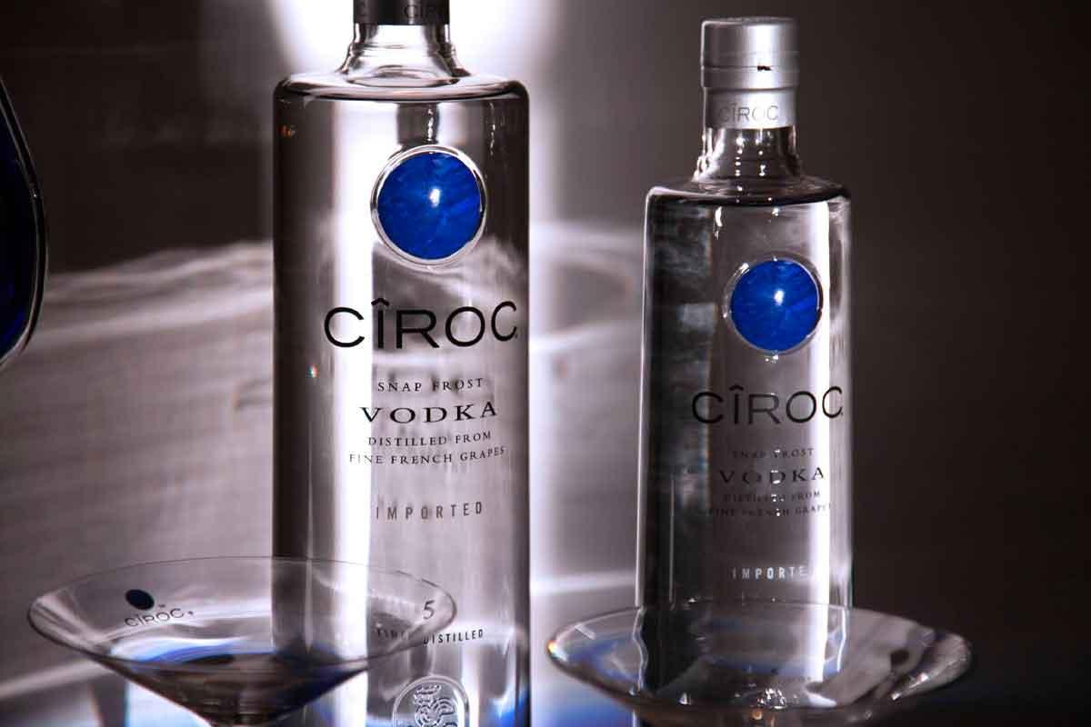 unconventional vodka: Cîroc Vodka