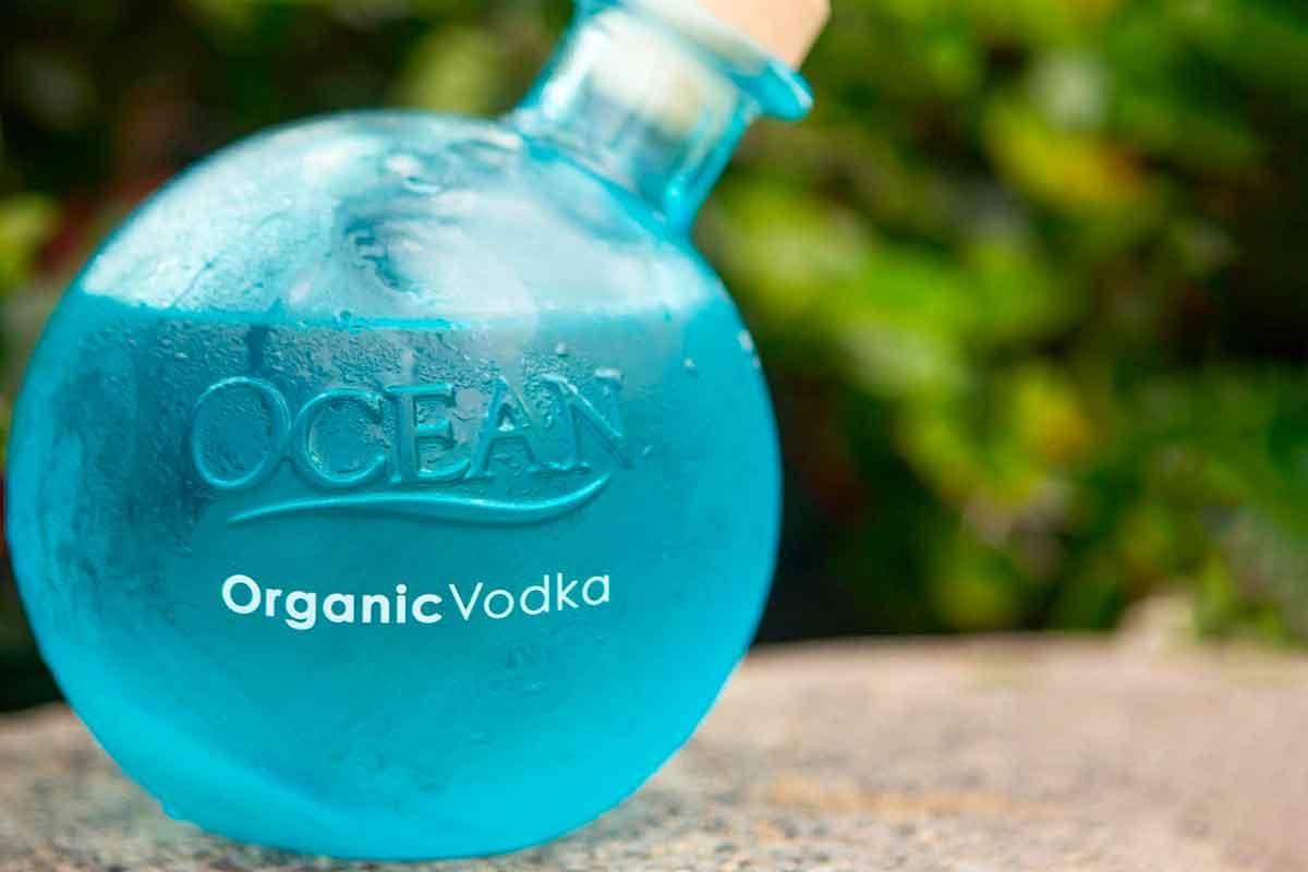 unconventional vodka: Ocean Vodka
