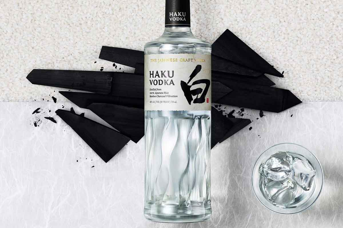 unconventional vodka: Haku Vodka