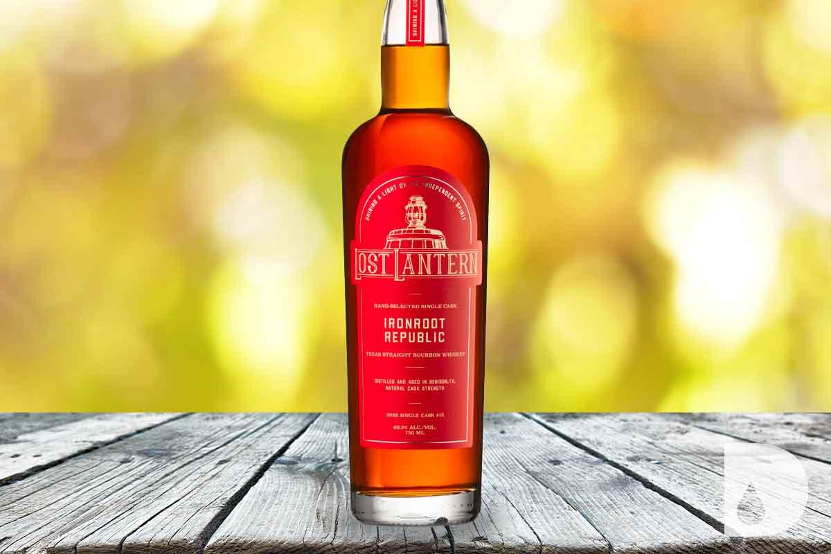 WhistlePig RoadStock Rye: Ironroot Republic Texas Straight Bourbon Single Cask #10