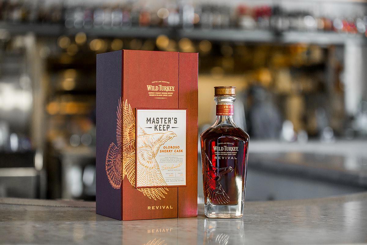 Wild Turkey bourbon: Wild Turkey Master's Keep