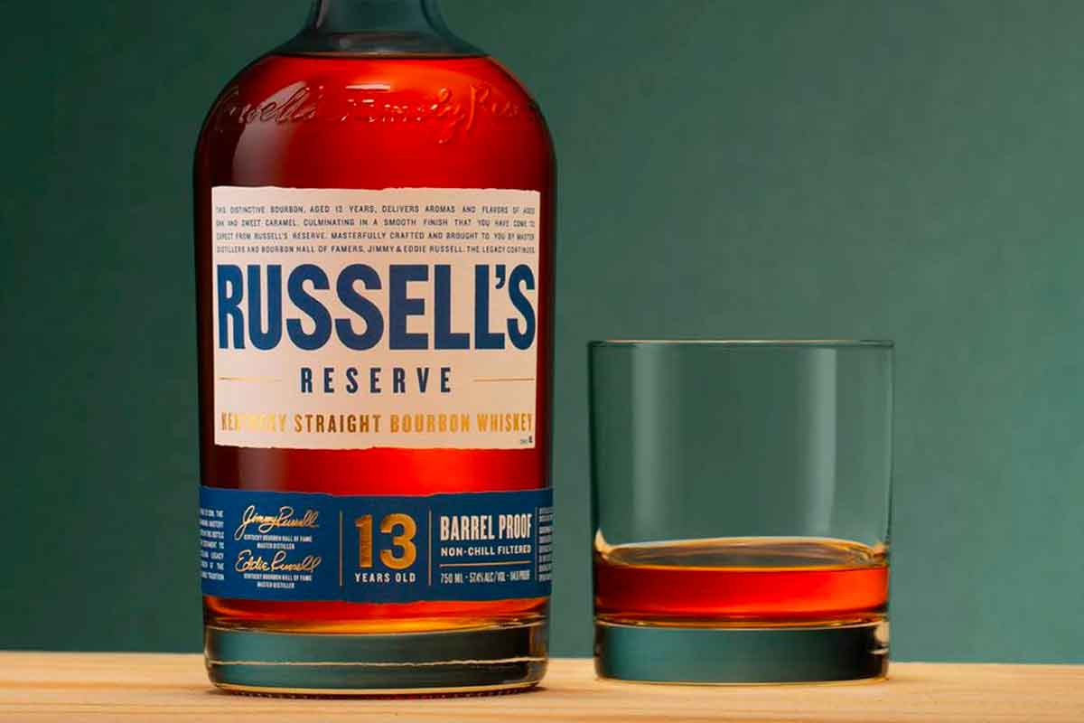 Russell's Reserve Bourbon: Russell's Reserve 13 Year Bourbon