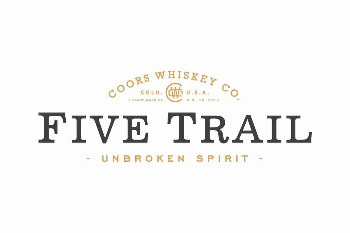 Basil Hayden Toast: Five Trail whiskey label