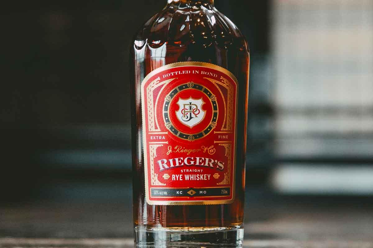 Basil Hayden Toast: J. Rieger & Co. Bottled-in-Bond Straight Rye Whiskey