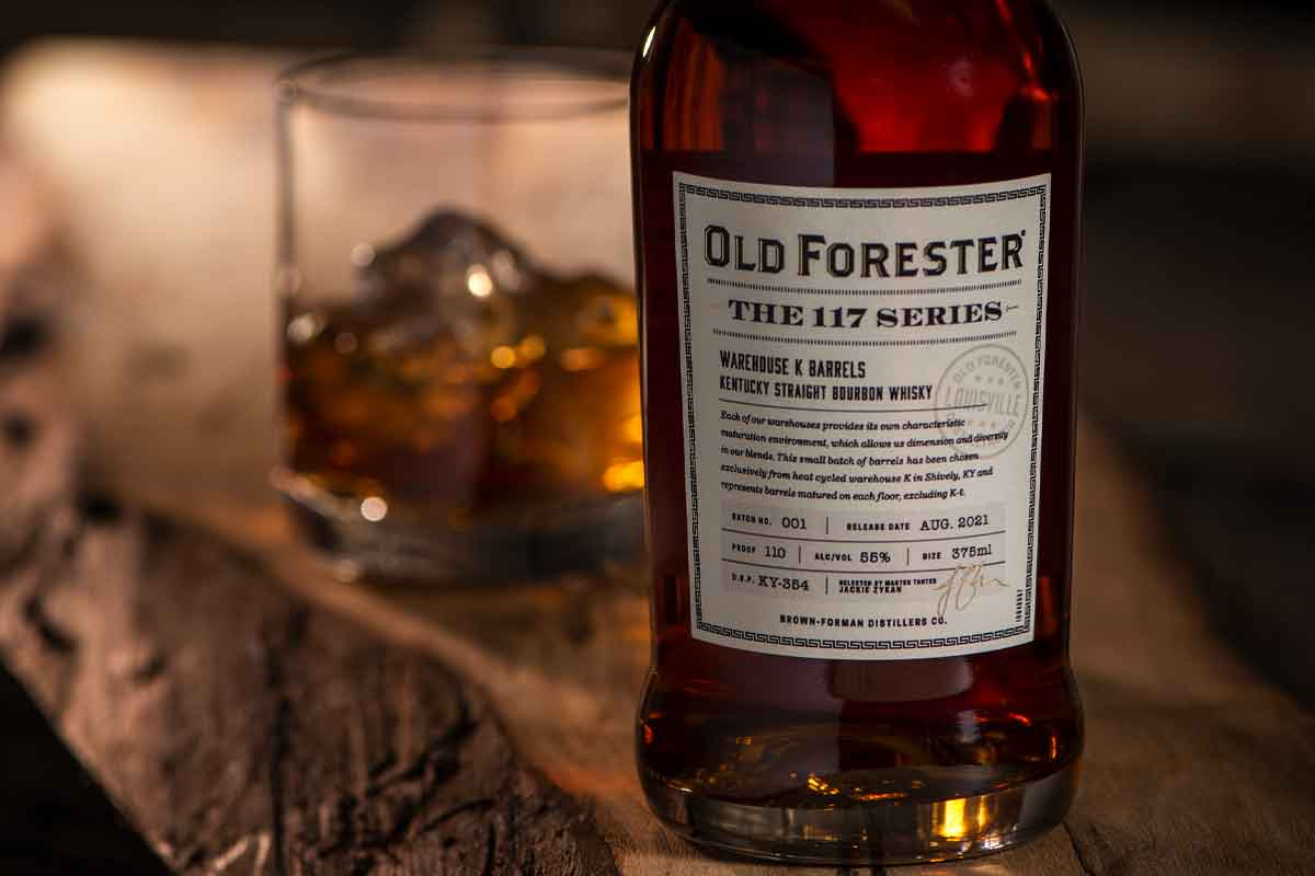 Heavy Char Wheat Whiskey: Old Forester the 117 Series
