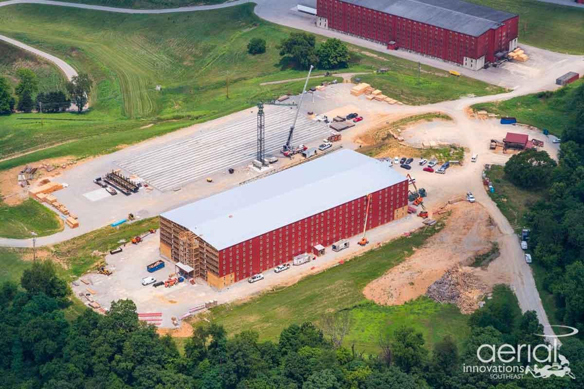 Heavy Char Wheat Whiskey: Buffalo Trace Distillery expansion