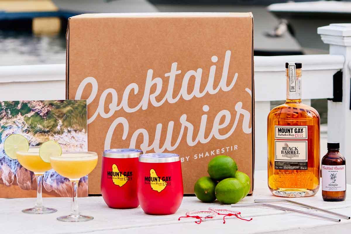 Heavy Char Wheat Whiskey: Mount Gay 4Ocean Cocktail Kit