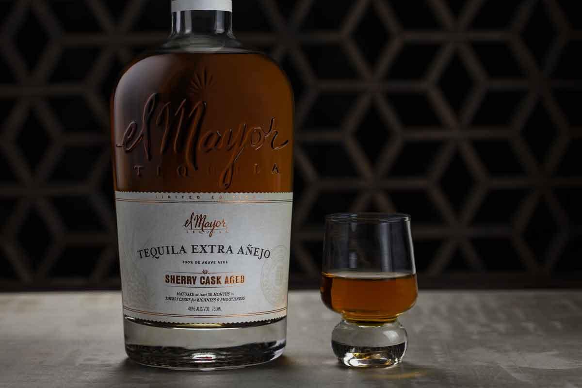 Heavy Char Wheat Whiskey: El Mayor Extra Añejo Sherry Cask Aged