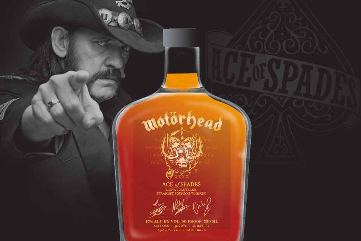 Heavy Char Wheat Whiskey: Ace of Spades Straight Bourbon Whiskey