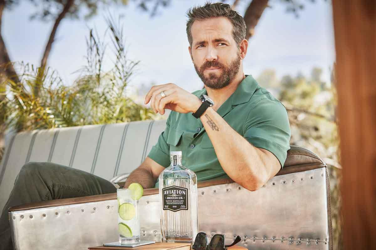 glenfiddich grande couronne: Ryan Reynolds