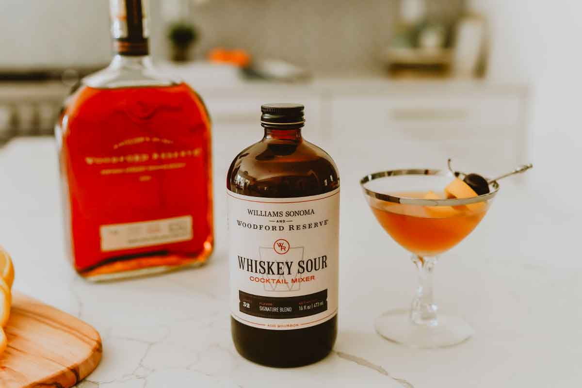 Four Roses 2021: Williams Sonoma & Woodford Reserve Whiskey Sour Cocktail Mixer